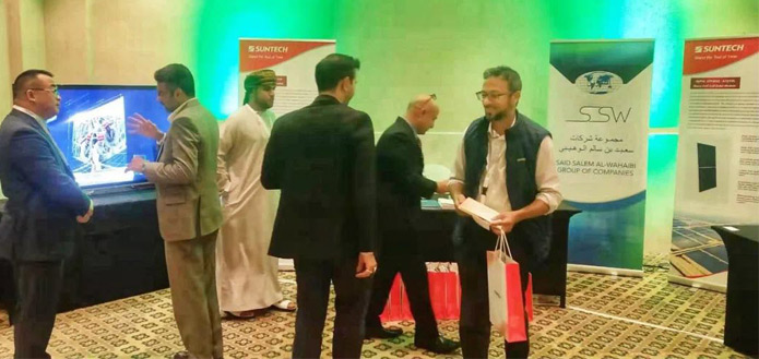 Suntech-attend-Oman-Sustain