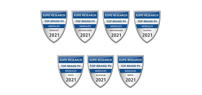 """无锡尚德连续六年荣膺EuPD Research授予的 """"顶级光伏品牌"""""""